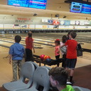 Bowling and Pizza with the altar servers and children's choir photo album thumbnail 14