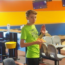 Bowling and Pizza with the altar servers and children's choir photo album thumbnail 17