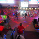 Bowling and Pizza with the altar servers and children's choir photo album thumbnail 21