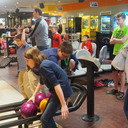 Bowling and Pizza with the altar servers and children's choir photo album thumbnail 8