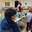 Thanksgiving boxes packed by our 7th graders for Outreach photo album thumbnail 10
