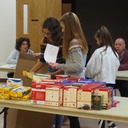 Thanksgiving boxes packed by our 7th graders for Outreach photo album thumbnail 13
