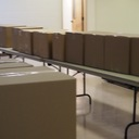 Thanksgiving boxes packed by our 7th graders for Outreach photo album thumbnail 34